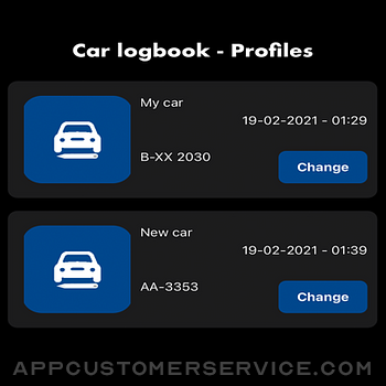 Car Log book App iphone image 1