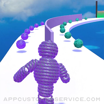 Rope-Man Run iphone image 3