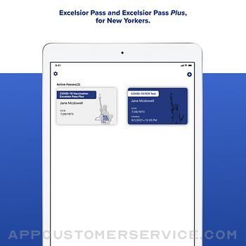 NYS Excelsior Pass Wallet ipad image 1