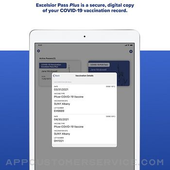 NYS Excelsior Pass Wallet ipad image 4