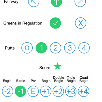 Golf Stats 18Bogies iphone image 3