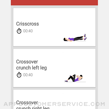 ABS Workout - Six Pack 30 days iphone image 4
