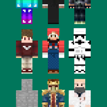 Girl & Boy Skins for Minecraft iphone image 1