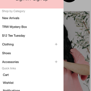 Arrow Rose Boutique iphone image 2