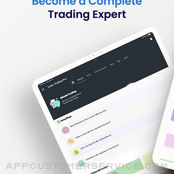 Learn Bitcoin & Forex Trading ipad image 1