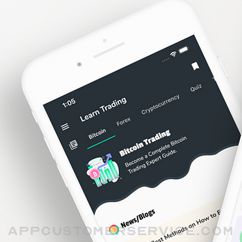 Learn Bitcoin & Forex Trading iphone image 1