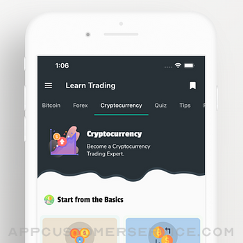 Learn Bitcoin & Forex Trading iphone image 3