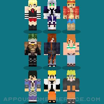 Anime Skins For Minecraft MCPE ipad image 1