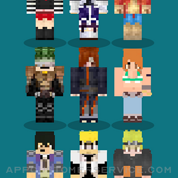 Anime Skins For Minecraft MCPE iphone image 1