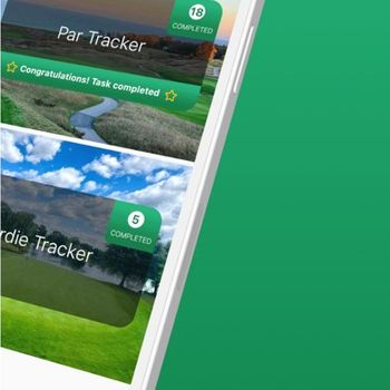 Golf Drills: Round Tracker iphone image 3