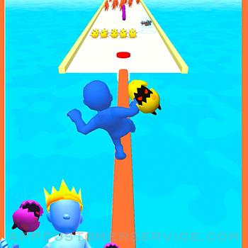 Boom Runner - Tower Defense 3D iphone image 2