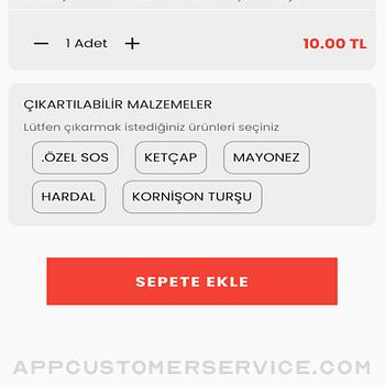 ByerYemek iphone image 4
