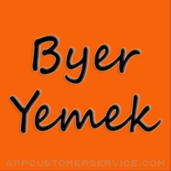 ByerYemek Customer Service