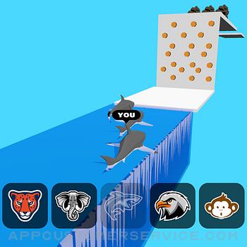 Animal Transform:Epic Race 3D ipad image 1