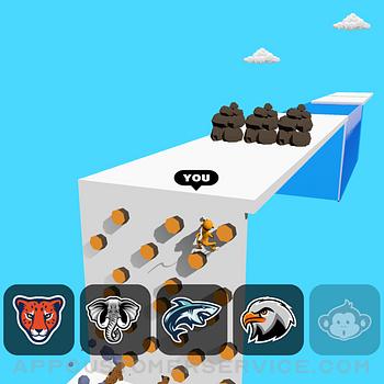 Animal Transform:Epic Race 3D ipad image 2