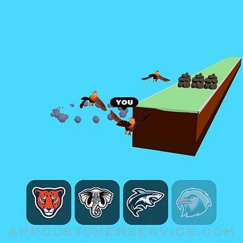 Animal Transform:Epic Race 3D ipad image 3