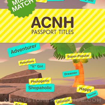 ACNH Passport Titles ipad image 1