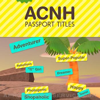 ACNH Passport Titles iphone image 1