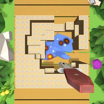 Block Breaking 3D iphone image 3