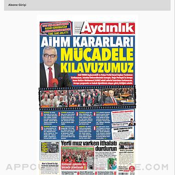 Aydınlık E-Gazete ipad image 2