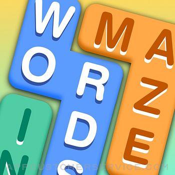 Words in Maze Customer Service