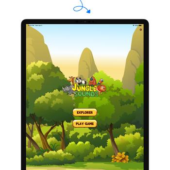 Bingoo Jungle Sounds ipad image 1