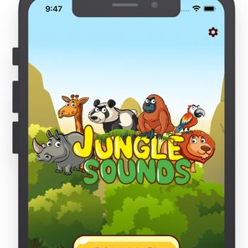 Bingoo Jungle Sounds iphone image 1