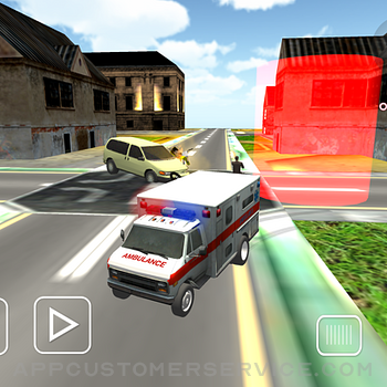 Ambulance Car Doctor Mission ipad image 1