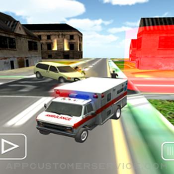 Ambulance Car Doctor Mission iphone image 1