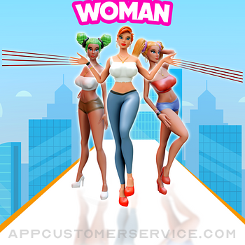 Nail Woman: Baddies Long Run ipad image 1