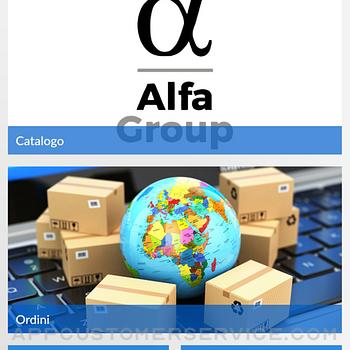 AlfaGroup catalogo e ordini ipad image 1