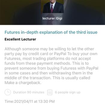BaiSheng futures message & new iphone image 4