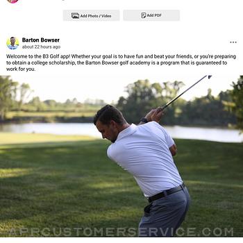 B3 Golf ipad image 1