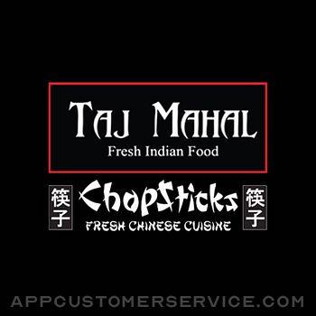 Chopsticks & Taj Mahal Customer Service