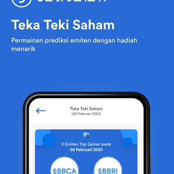 Bank Saham iphone image 3