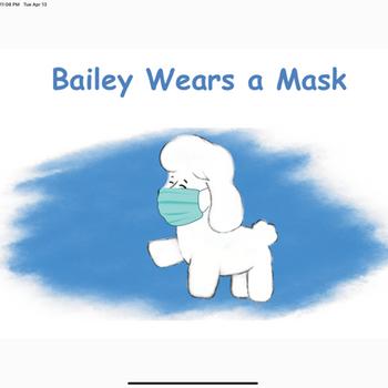 Bailey Wears a Mask ipad image 2