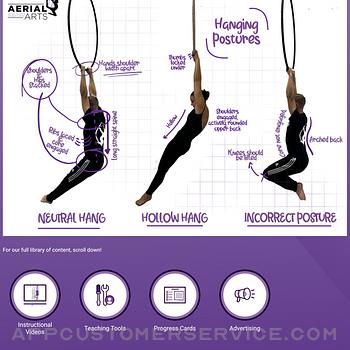 Aerial Arts App ipad image 3