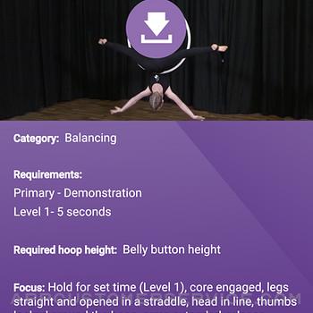 Aerial Arts App iphone image 2