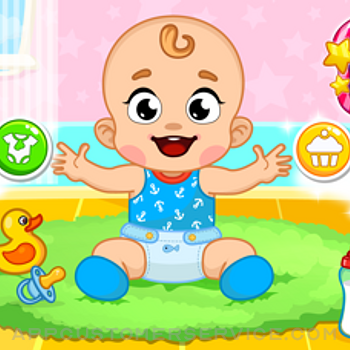 Baby Care Games for kids 3+ yr iphone image 1