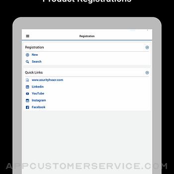 Asurity Promise Registration ipad image 2