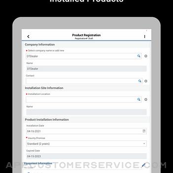 Asurity Promise Registration ipad image 4