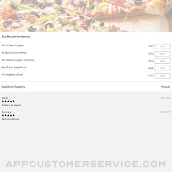 Caspian Pizza Worcester Town ipad image 1