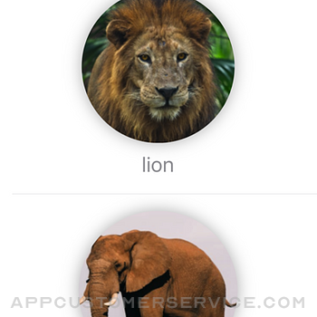 70 animal names with voice iphone image 1