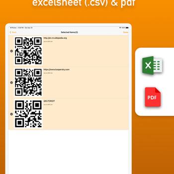 Batch QR Scanner ipad image 3