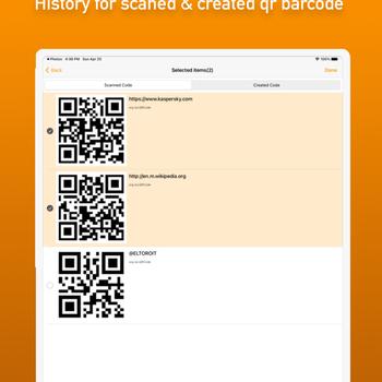 Batch QR Scanner ipad image 4