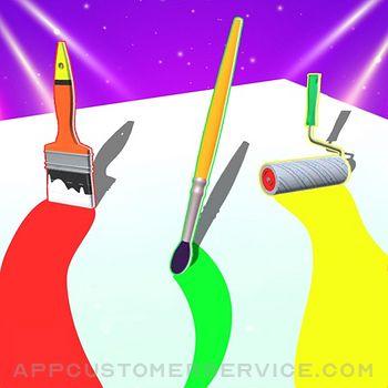 Brushes Run Customer Service