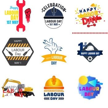 Labour Day Stickers ipad image 1