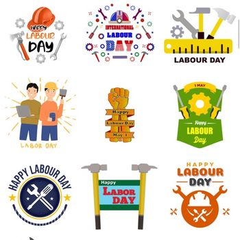 Labour Day Stickers ipad image 2