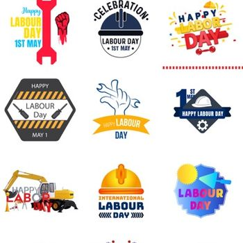Labour Day Stickers iphone image 3