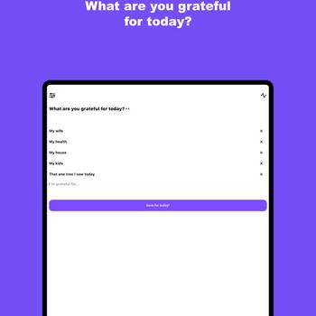 I Am: A Gratitude Journal ipad image 1
